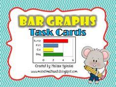 Bar Graph: Task Cards (40 Large)   $