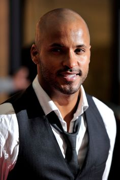 ricky whittle | Ricky Whittle Ricky Whittle arrives for the MOBO Awards 2010 at the ...