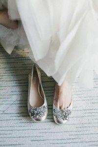 Zapato de novia original - novias con zapato plano