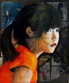 Tania B Kenatou 100x80cm