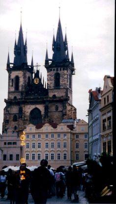 Praga: piazza della repubblica