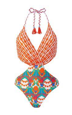5e6fdf90fb Andal One Piece Swimsuit by PAOLITA for Preorder on Moda Operandi Plaj  Giysisi