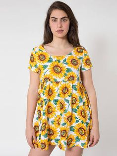 sunflower babydoll dress - Google Search