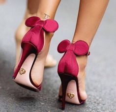 Micky Mouse inspired heels
