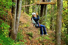 The best ziplines in Gatlinburg and the Smoky Mountains - http://www.gatlinburgtnguide.com/things-to-do/gatlinburg-zipline-tours/