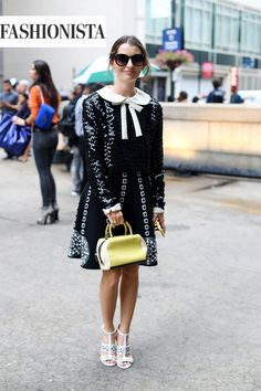 Fashionista Best Street Style at New York Fashion Week