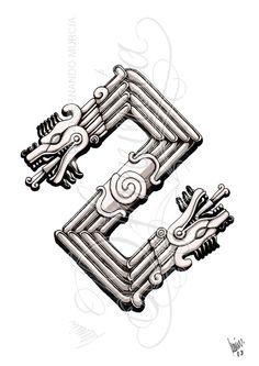 Quetzalcoatl, la serpiente emplumada y dios en muchas culturas prehispánicas, intepretado de muchsimas formas tamaños y colores, pero esta vez tendra que ser a lapiz y muy limitado pues apenas voy ...