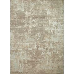 Hand-Knotted Abstract Pattern Ashwood/Classic Gray Wool (8 x 10) Area Rug