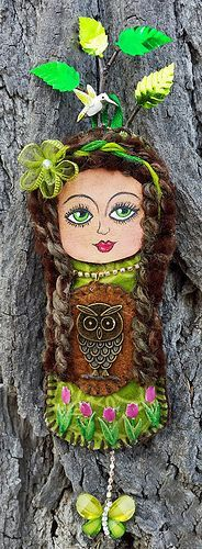 Druantia - Dotee Doll Goddess | Flickr - Photo Sharing!