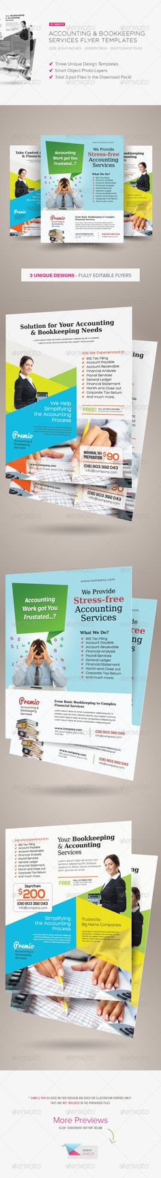 Pinterest 40 print templates images print templates banner accounting and bookkeeping services flyers are design templates created for sale on graphic river more fandeluxe Images