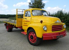 Historics at Brooklands - Specialist Classic and Sports Car Auctioneers - 1954 Bedford A Type Flat Bed Lorry