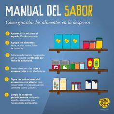 Consejos para hacer un buen uso de tu despensa, almacenar los alimentos según fecha de caducidad y vigilar la higiene #conservamoslanaturaleza #salsadetomate #pimientosasados #bierzo #consejossalud