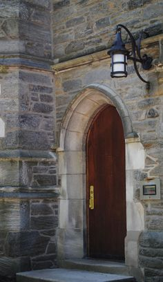 Doorway at Bryn Mawr College