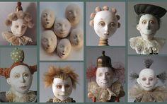 Marlaine Verhelst. Workshop porcelain masks for NIADA