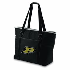 NCAA Purdue Boilermakers Tahoe Extra Large Insulated Cooler Tote by Picnic Time. $44.95. Show your team spirit with this Picnic Time Tahoe team logoed tote, offering a versatile design that will cover you for a myriad of tasks. Perfect for trips to the market or as a picnic cooler, the Tahoe also makes a terrific beach bag. This generous size tote measures 23 inches long and 17 inches tall, and has plenty of interior storage space, enough to hold 48 standard s...