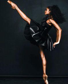 Ballerina Nardia Boodoo - The Washington Ballet - Photo by Rachard Wolf Photography