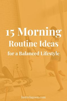 morning routine Tired of rushed, unorganized, and chaotic mornings? Here are 15 energizing morning routine ideas that will help you customize the perfect morning routine. Morning Yoga Routine, Healthy Morning Routine, Health Routine, Self Care Routine, Calming Activities, Physical Activities, Practicing Self Love, Healthy Lifestyle Tips, Healthy Habits