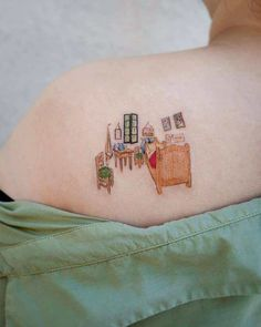 35 tattoos inspired by the works of Vincent van Gogh - - Cute Tiny Tattoos, Little Tattoos, Pretty Tattoos, Beautiful Tattoos, Small Tattoos, Cool Tattoos, Tatoos, Van Gogh Tattoo, Botanisches Tattoo
