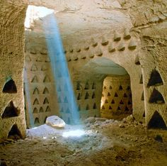 Beit Lehi, an archeological dig in Israel, has changed little from New Testament times.