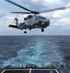 The SH-60B Seahawk. The MH-60S has the Seahawk's automatic rotor blade folding system and rapid folding tail pylon for shipborne operations. - Image - Airforce Technology