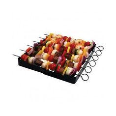BBQ Shish Kabob Skewers 6 Set Grill Meat Veggies Shrimp Oven Smoker Kebab Party (item_by