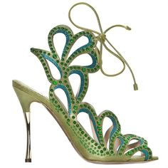 Pagan Shoes Wicca Witch:  Scarpe Nicholas Kirkwood Primavera Estate 2013  #Shoes. For an Elf or Faery.