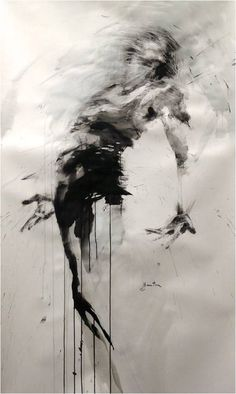 Dance, ink on paper, ewa hauton dance blackandwhite ink painting … # - therezepte sites Aesthetic Painting, Aesthetic Drawing, Aesthetic Dark, Painting Wallpaper, Ink Painting, Painting Canvas, Canvas Art, Fantasy Kunst, Dark Fantasy Art