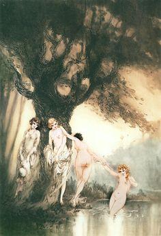 Louis Icart - Bathing Beauties (1931)