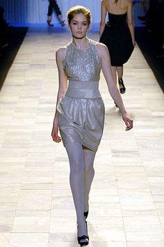 Zac Posen Fall 2006 Ready-to-Wear Fashion Show - Lily Donaldson