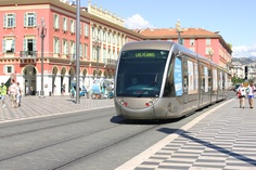 NICE - discover #Nice by the very new Tramway system...so sleek!  #Nice, French riviera