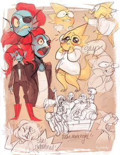 sylladexter: I love Undertale with every fiber of my being... Tags: #reblogged other_peoples_art undertale