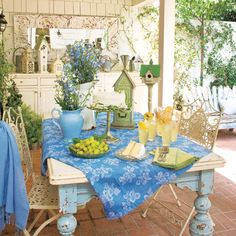 An open-air dining room that's as beautiful as it is practical. | Photo: Mark Lohman | Get the look @ thisoldhouse.com