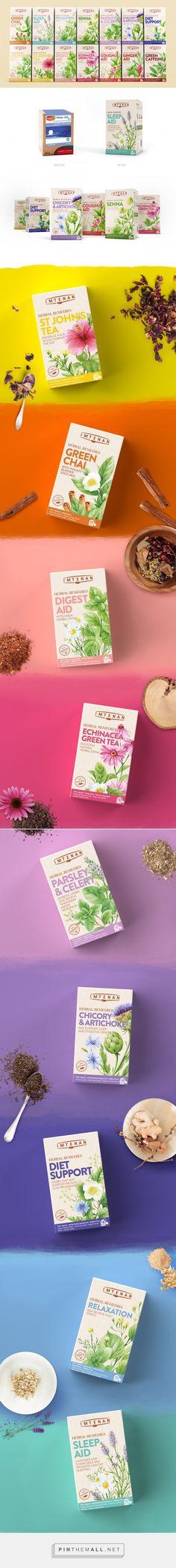 Imtenan Herbal Remedies — The Dieline - Branding & Packaging - created via http://pinthemall.net