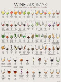 Struggling with describing wine? This wine aroma chart gives you an easy guide t. - Expolore the best and the special ideas about Wine pairings Art Du Vin, Wein Parties, Wine Chart, Wine Facts, Wine Tasting Party, Wine Tasting Notes, Wine Education, Wine Guide, Wine Cheese