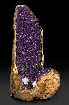 Beauty straight from the ground beneath your feet. It raw form.  Amethyst