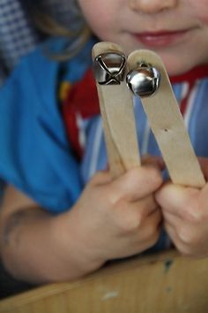 Jingle Bells. Good musical instruments the kids can make themselves... #WestMusic #InspireMyClass