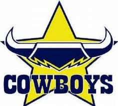 The North Queensland Cowboys are an Australian professional rugby league football club based in Townsville. in National Rugby League Dallas Cowboys Logo, Cowboys Vs, Cowboys Football, Football Team, Basketball Game Tickets, Canterbury Bulldogs, Newcastle Knights, Penrith Panthers, Logo