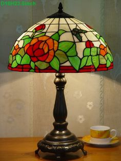Butterfly Tiffany Lamp	16S5-50T615