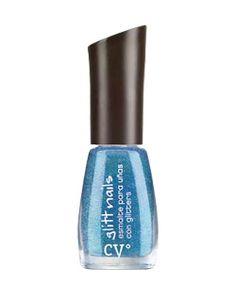 Cyº glitt nails de Cyzone - Más glitter por favor! (Tono Zaphiro Glitt) #PrimerasVecesByCyzone