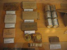WW2 Rations display