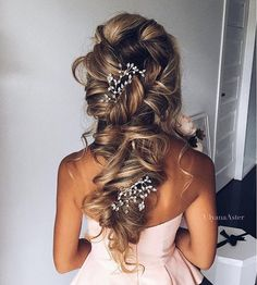 """Luxy Hair on Instagram: """"Dreamy braids @ulyana.aster ✨✨ Perfect look for a wedding Tag someone who's getting married soon! """""""