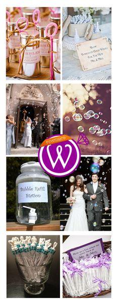 Blow Bubbles not Confetti - 21 Inspiring inspirations - www.weddzer.com
