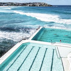 Everyone is Welcome - Bondi Icebergs Club Bondi Icebergs, Im Leaving, Brand Inspiration, Bondi Beach, Iphone Backgrounds, Jet Plane, Summer Time, Places To See, Sydney