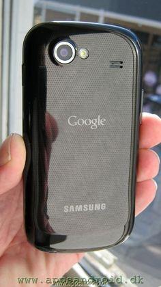Google Nexus S back