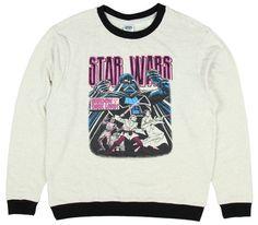 Star Wars Darth Vader Contrast Rib Pullover
