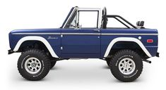 Ready for summer? Is your garage missing something? Maybe this Navy Blue Bronco! loaded up with all the right options included a/c and fuel injection. Don't wait, this one won't be around for long. Classic Ford Broncos, Ford Classic Cars, Classic Trucks, Ford Trucks, Ford Bronco Truck, Chevrolet Trucks, Diesel Trucks, Chevrolet Impala, Lifted Trucks