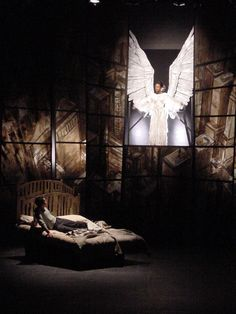 """Tony Kushner's monolithic play, """"Angels in America: A Gay Fantasia on National Themes."""""""