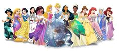 Disney princess dresses designed by black milk patterns #disney #blackmilk