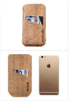 Cork Smartphone Case by German couple Eve & Adis