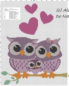 Owls family free cross stitch pattern.jpg